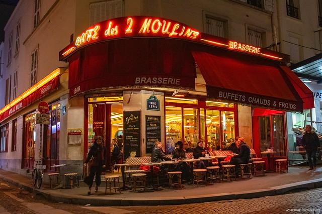 Café des 2 Moulins: curiosità su Montmartre