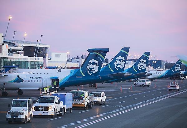 Alaska Airlines hub SEA (Alaska Airlines)