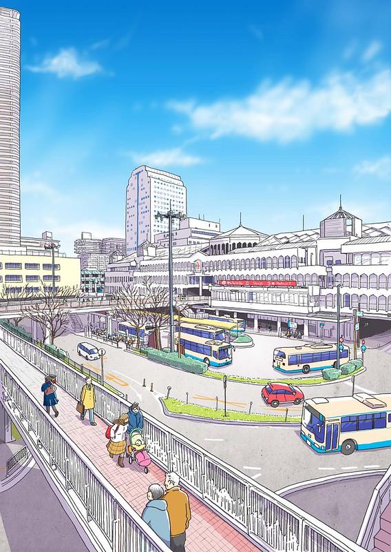 広報とよなか 2020年2月号(千里中央バスターミナル)
