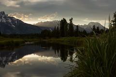 Light at the Grand Teton National Park