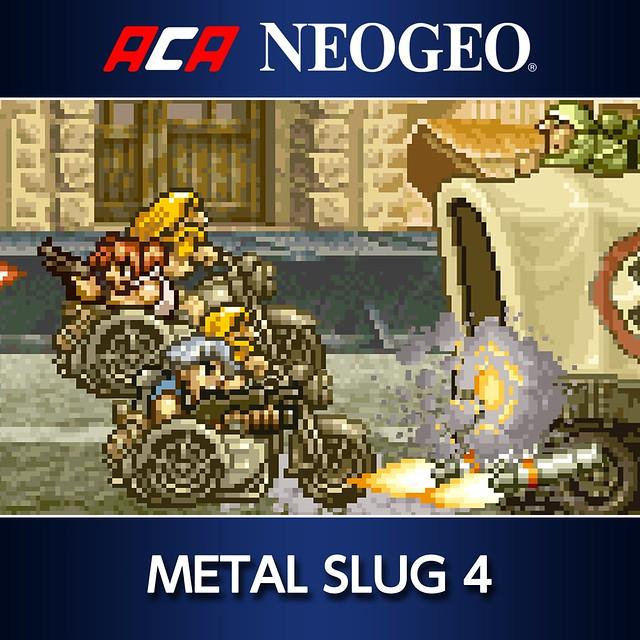 Thumbnail of ACA NEOGEO METAL SLUG 4 on PS4