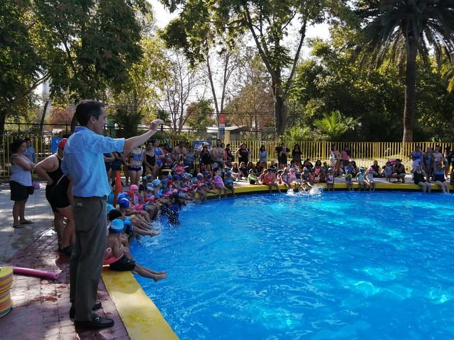 #EnTerreno : Cierre de Taller de Natación