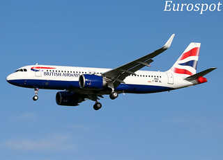 F-WWDL Airbus A320 Neo British Airways