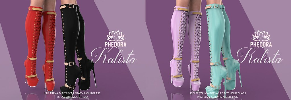 "Phedora for Equal10 ~ ""Kalista"" Boots ♥"
