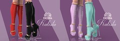 """Phedora for Equal10 ~ """"Kalista"""" Boots ♥"""