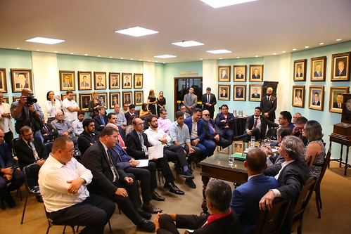 Visita do Prefeito, Alexandre Kalil, aos vereadores e vereadoras  da Câmara Municipal de Belo Horizonte