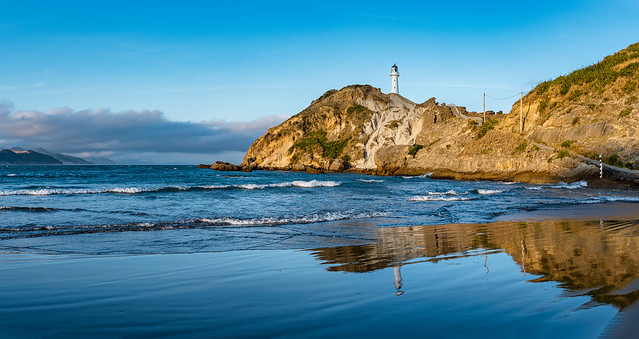 Castle Point LIghthouse Pano