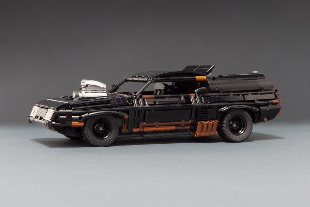 LEGO Black Interceptor (Original Design by Mikhail Biktimirov)