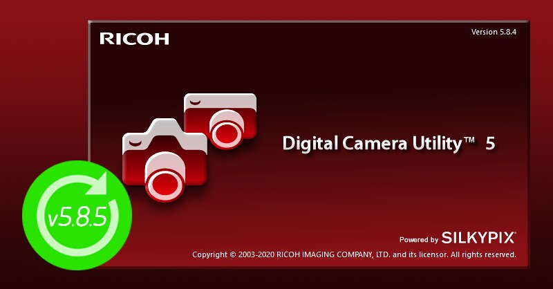 Digital Camera Utility 5 update v5.8.5