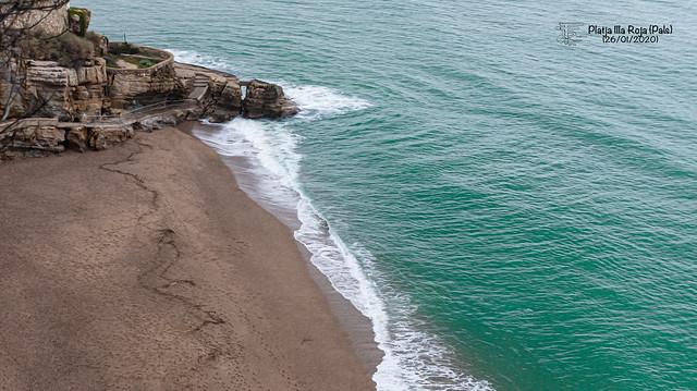 Platja Illa Roja