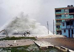 Huracán Ike en Baracoa (2008)