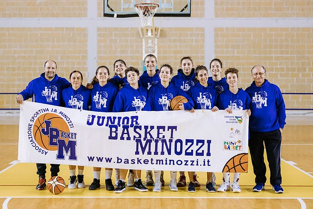 basket femminile minozzi