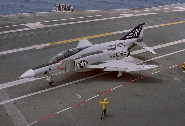 RF-4B Phantom II 153092 of VMFP-3 RF-4