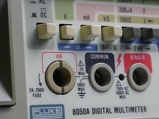 Fluke 8050A Cleaned