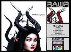 RAWR! Horny Horns @Shiny Shabby