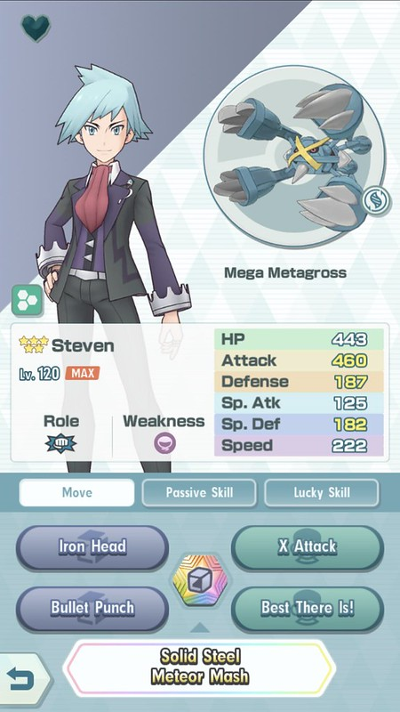 Steven _ Mega Metagross - Screenshot