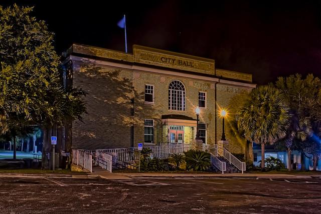 City of Avon Park, City Hall building, 110 E Main Street, Avon Park, Florida, USA / Built: 1928-1934 / Addition & Renovations: 1992-2014-15 / Original Architects: W.J. Heim, John McMichael / Restoration Architect: Terry A. Hunter /  Floors: 2 + Basement