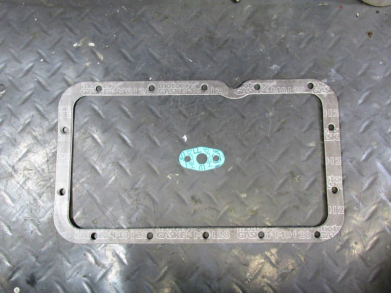 New Gaskets-Green Is Oil Pump Suction Flange Gasket