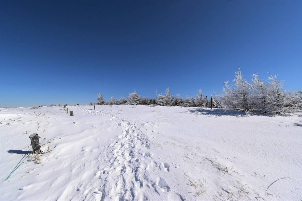 冬の鉢伏山 広大な雪景色