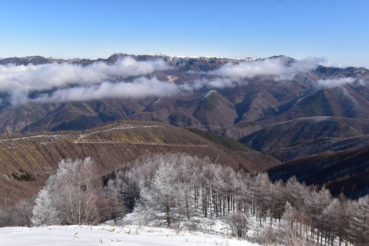 鉢伏山から眺める美ヶ原