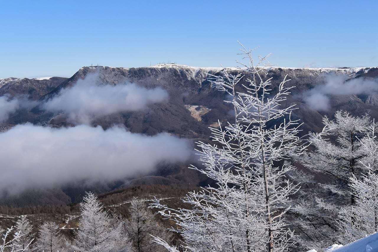 鉢伏山から望む美ヶ原