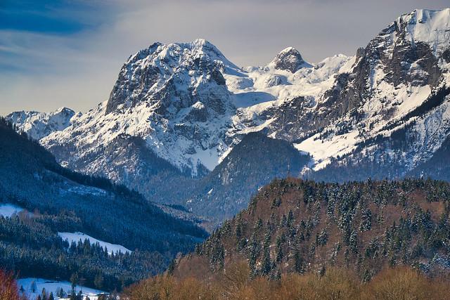 The Ramsau Dolomites, Berchtesgaden Alps, in winter