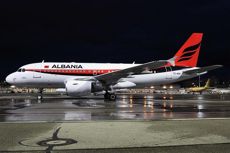 TC-ANA A319 Albania Government MUC 20200214
