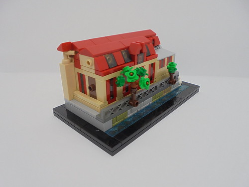 "Lego Microscale Užice's hydroelectric power plant ""Under the town"" 