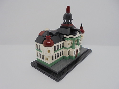 Lego Microscale Zrenjanin City Hall | by legomanijak