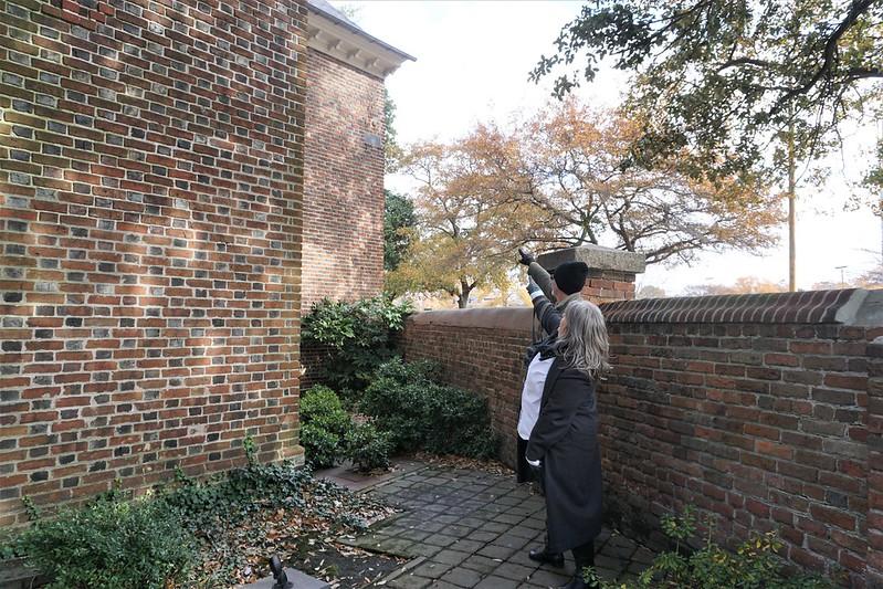 Lodged Cannonball - St. Paul's Episcopal Church - Norfolk, Va., Nov. 2019