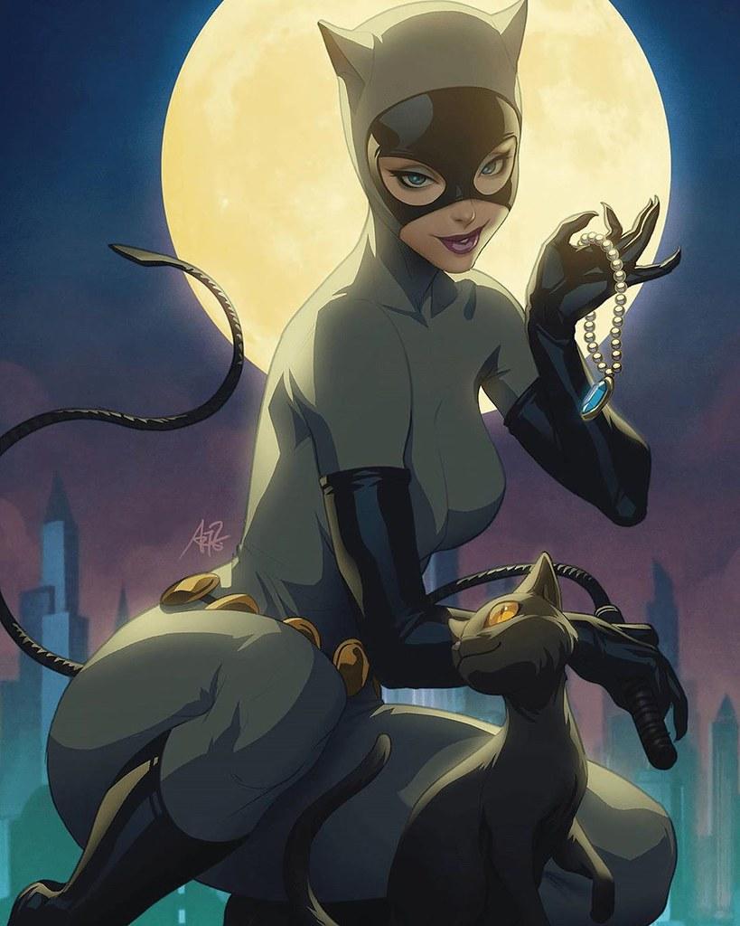 DC Collectibles DC 設計師系列【貓女 (Catwoman) by Stanley Lau】1/6 比例全身雕像