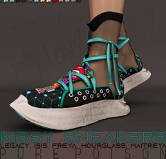 Pure Poison - Kissy Sneakers @Kustom9