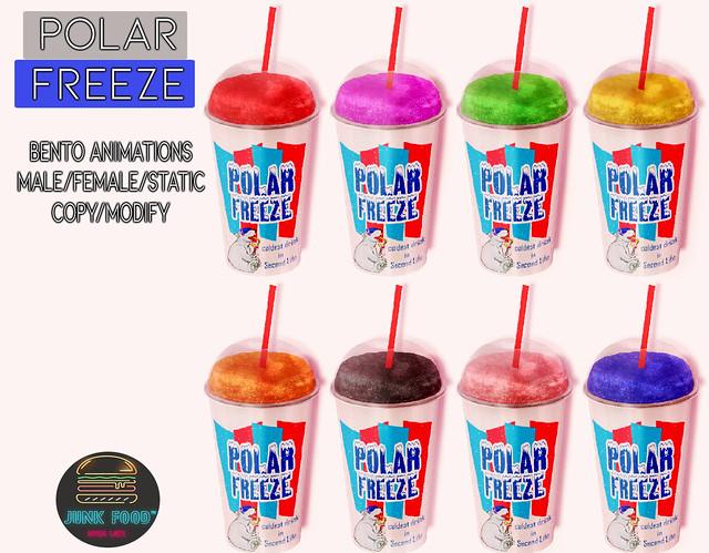 Junk Food - Polar Freezes Ad