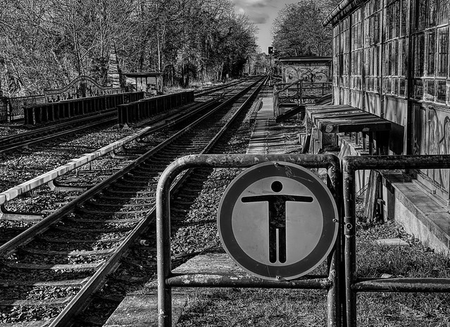 ...waiting for the train....