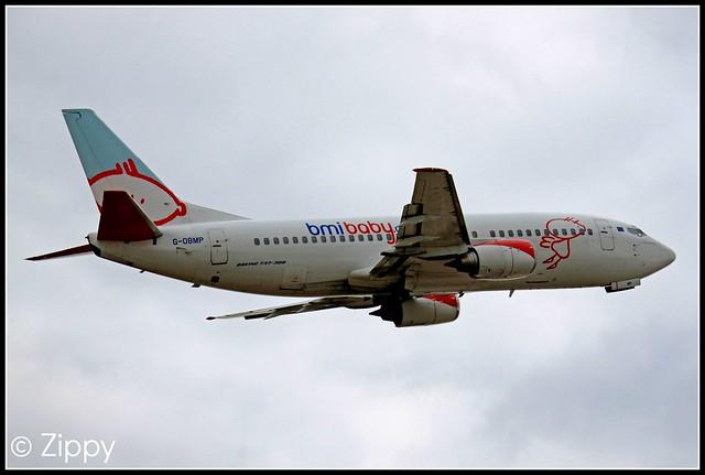 G-OBMP - Bmi Baby - Boeing 737 - EMA