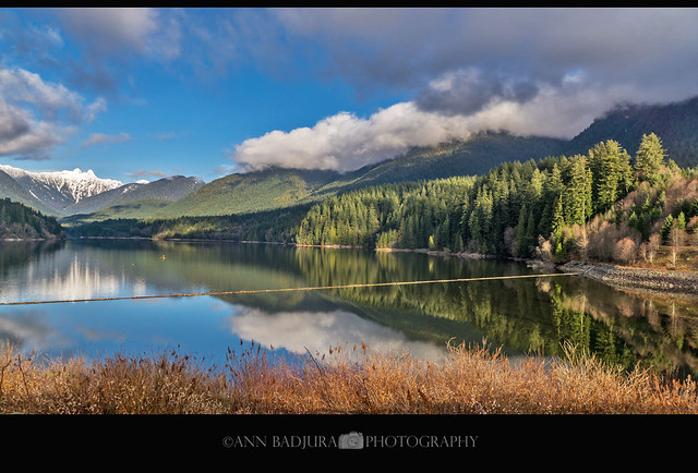 Capilano Lake in North Vancouver, BC, Canada