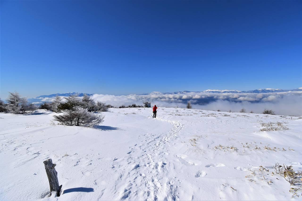 鉢伏山から眺める雲海