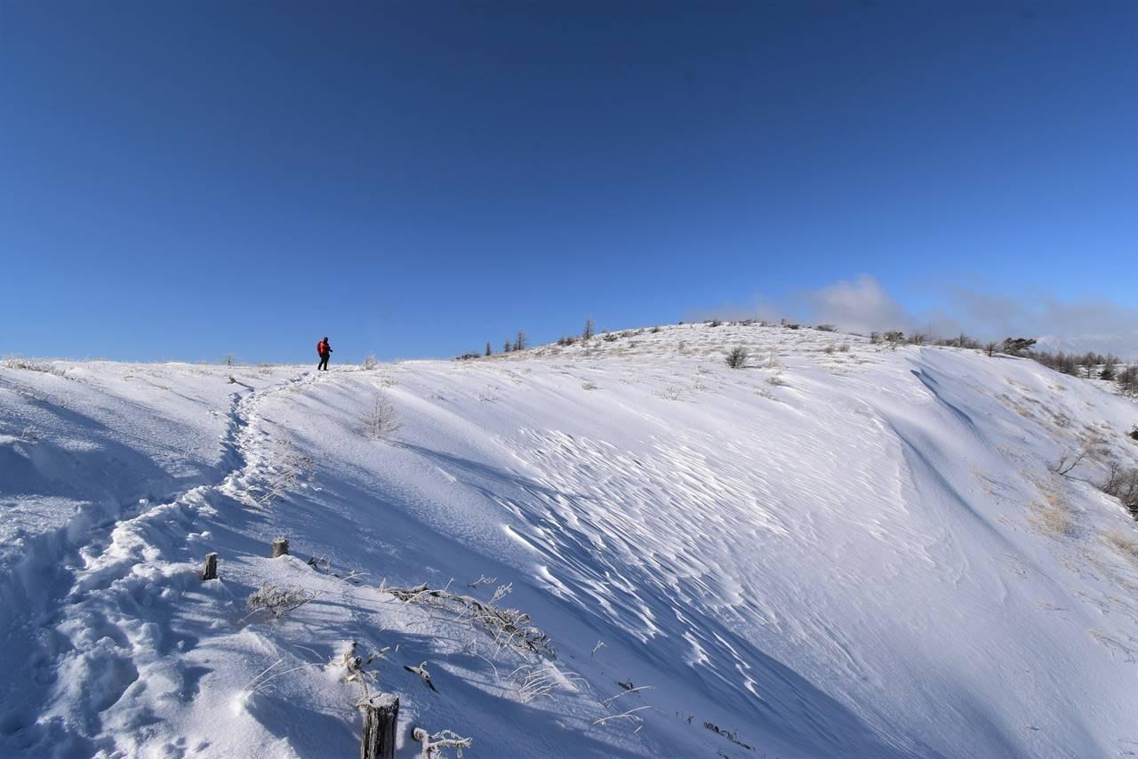 冬の鉢伏山 日帰り雪山登山