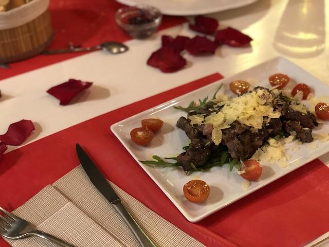 San Valentín dinner