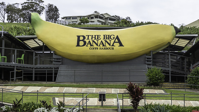 The Iconic Big Banana at Coffs Harbour. A trip up this way wouldn't be complete without a photo from here