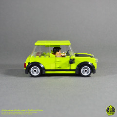 Mini Cooper classic from the Mr.Bean show.