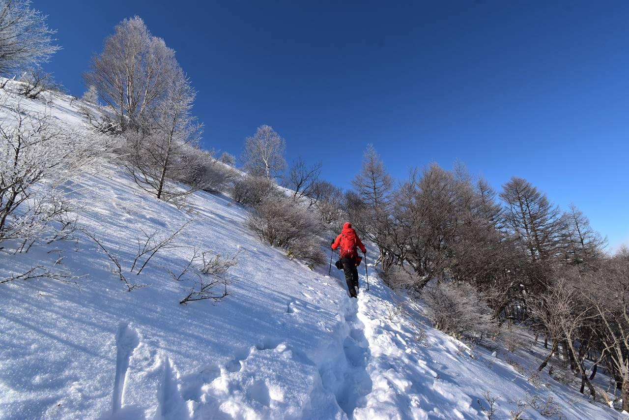 鉢伏山 日帰り雪山登山