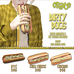 crate Dirty Dogs for Saturday Sale!
