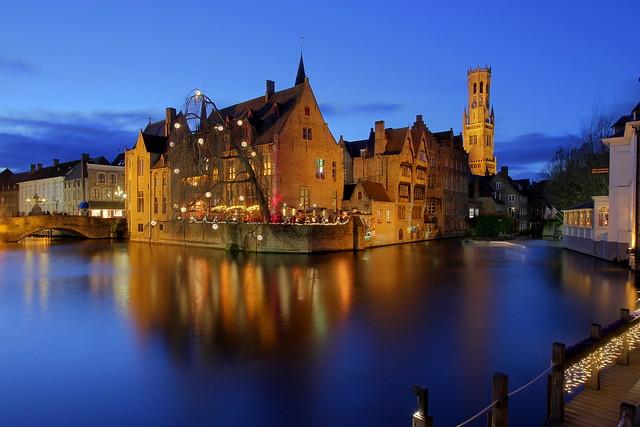 Bruges, quai du rosaire (4)