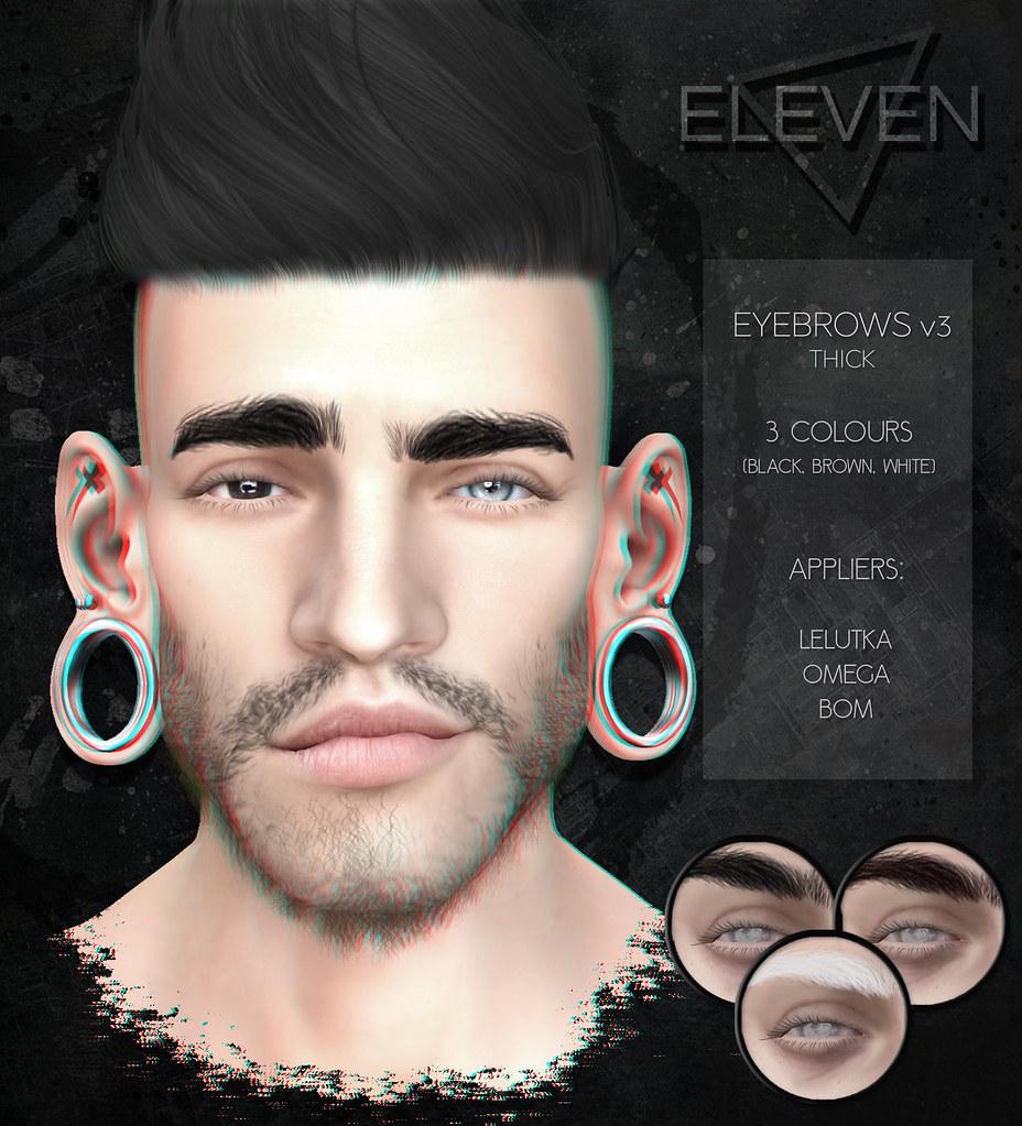 ELEVEN – Eyebrows v3 @ Salon