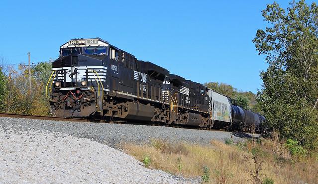 NS 65N west of Stryker