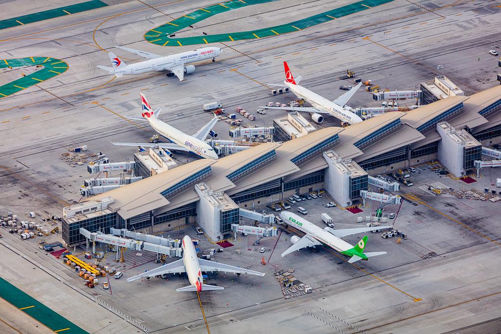 Tom Bradley Terminal Los Angeles International Airport LAX… | Flickr