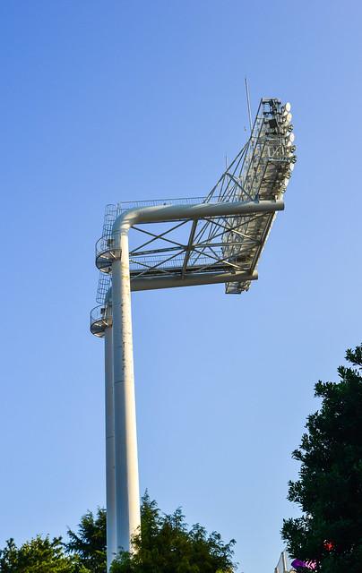 Big lamp post for sport stadium