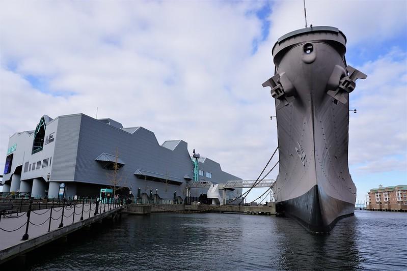 Battleship Wisconsin in Norfolk, Va., Nov. 2019