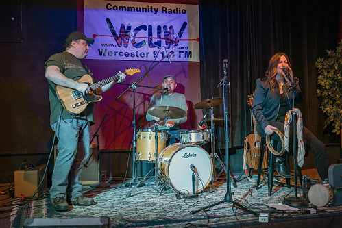 WCUW radio show iwth Helen & the Trash Pandas, & Vacker Dam | by Artrocity